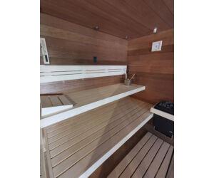 SAUNA KING Finn+Bio kombinierte Sauna Teneriffa für 2-3 Personen
