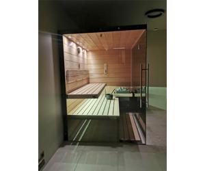 SAUNA KING Finn+Infra kombinierte Sauna Teneriffa für 2-3 Personen