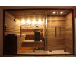 SAUNA KING Finn+Bio  kombinierte Sauna Hawai für 3-4 Personen