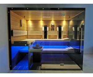 SAUNA KING Finn+Bio kombinierte Sauna Hawai für 4-5 Personen