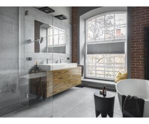 SAUNA KING Üveg zuhanykabin (100x120cm MA: 200cm) - 4 üvegszín választható