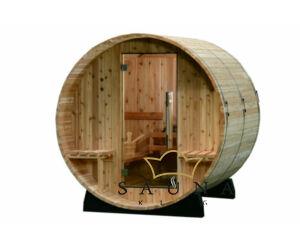 Fass-Sauna Audra zum Selbstbau (Aussensauna)