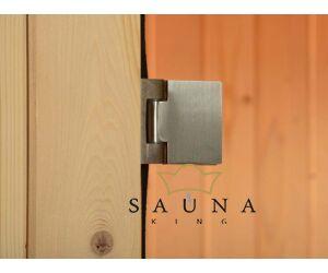 ALMOST HEAVEN Fass-Sauna Watoga aus Fichtenholz