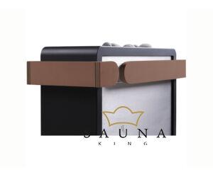 Sentiotec Holzreling klein, 2-seitig für Concept R Mini Combi Saunaofen