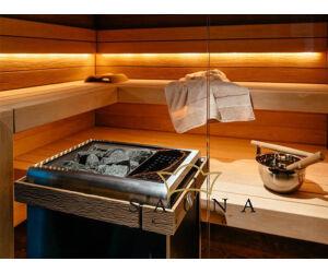 Sentiotec Holzreling groß für Concept R Combi Saunaofen