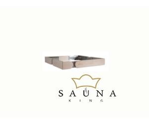 Sentiotec kicsi négyrészes beépítőkeret Concept R mini szaunakályhához