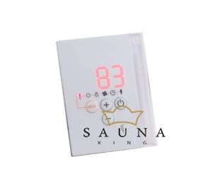 Sentiotec Saunasteuerung PRO-D2I (Finnisch+Infra) Schwarz oder Weiss
