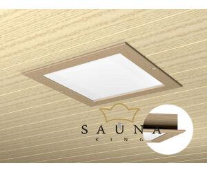 Collaxx fényterápiás készülék II. (2,5x2,5m), keret nélkül (abachi vagy akácfából)