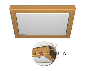 Collaxx fényterápiás készülék III. (3,5x3,5m),  Modern, égerfa vagy hemlokfenyő kerettel