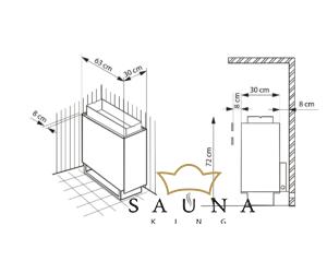 EOS Finnische Saunaofen P1+, 10,5kW-15kW