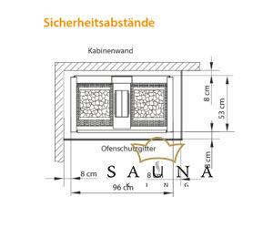 EOS Finnische Saunaofen Herkules XL S120 18 kW - 30 kW