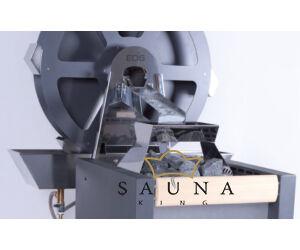 EOS Mühlensauna mit Stone S60 Saunaofen 9 kW - 15 kW