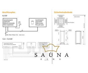 EOS Finn szaunakályha Saunadome II 9kW-18kW (kő nélkül)