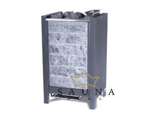 EOS Bio-Kombi szaunakályha Stone S25 Vapor, Fekete  7,5 kW - 9 kW (kő nélkül)