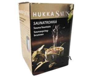 """""""Saunatroikka"""" Szökőkút, zsírkőből"""