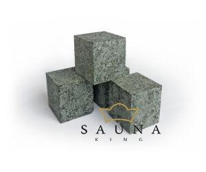 EOS Cubius Saunasteine für EOS Mythos Saunaofen (weiß)