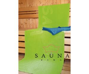 Sauna-Liegetuch, ca. 70 x 200 cm, grün