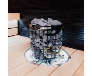 Rozsdamentes acél beépítő díszkeret, Cilindro 7 - 11,0 kW kályhákhoz