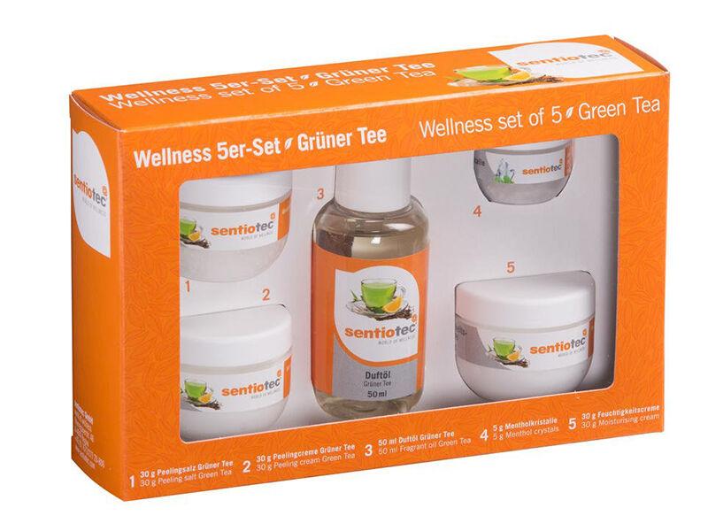 Wellness csomag 5 részes zöld tea