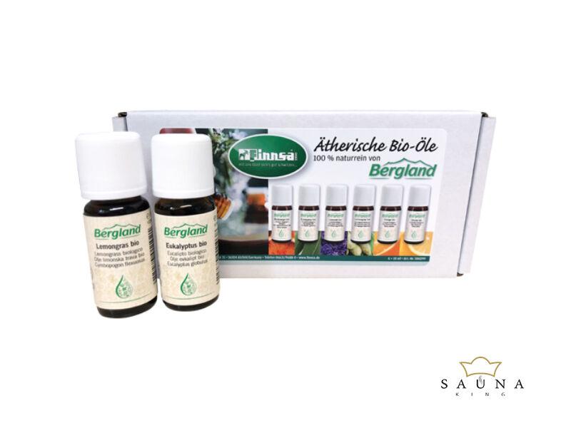 Ätherische Bio Öle von Bergland (6 x 10 ml, Set)