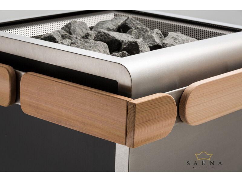 Sentiotec Holzreling klein für Concept R Saunaofen