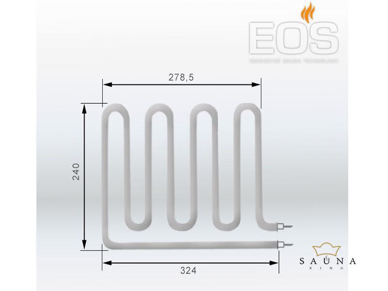 EOS Ersatzheizstab für Saunaöfen - 1333 W
