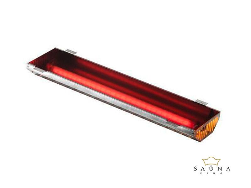 ECO Infrasugárzó sötét üvegborítással, 350W