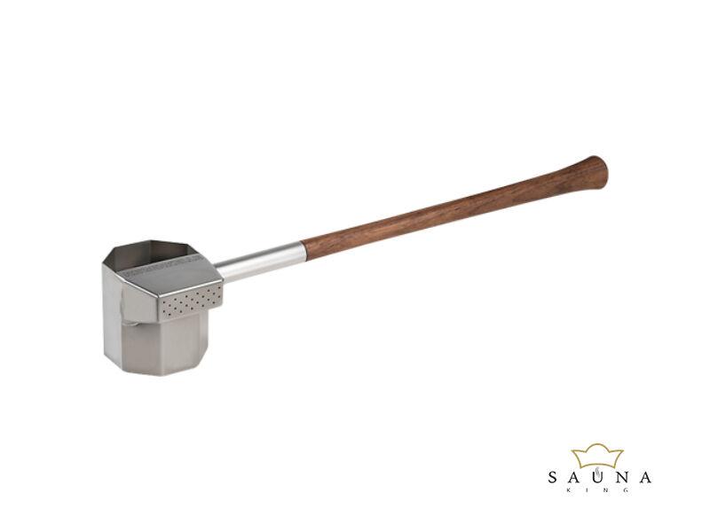 """Szauna """"esőkanál"""" diófa fogantyúval, 550ml, 54cm"""