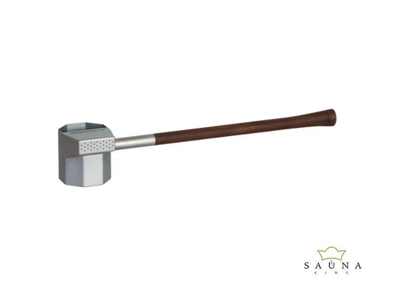"""Szauna """"esőkanál"""" diófa fogantyúval, 330ml, 51cm"""