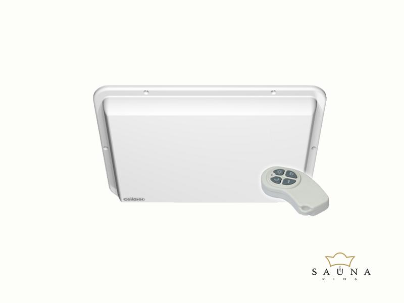 Collaxx fényterápiás készülék FL 2000. (3,5x3,5m), keret nélkül, gőzfürdőhöz
