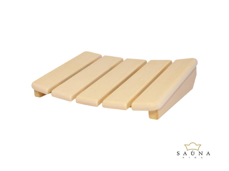 Kopfstütze Luxus aus Abachi-Holz