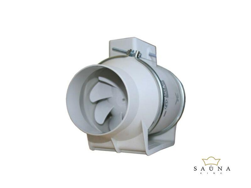 EOS Abluftventilator für Dampfbäder