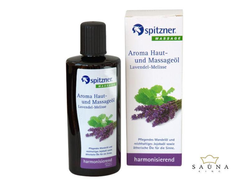 Haut- und Massageöl, Lavendel-Melisse, 190 ml