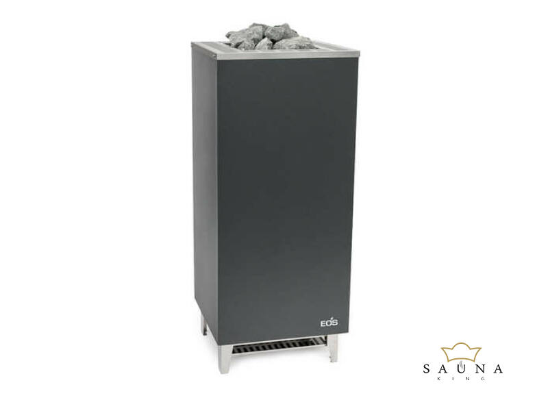 EOS Finn szaunakályha Cubo+, 7,5 kW-12kW (kő nélkül)