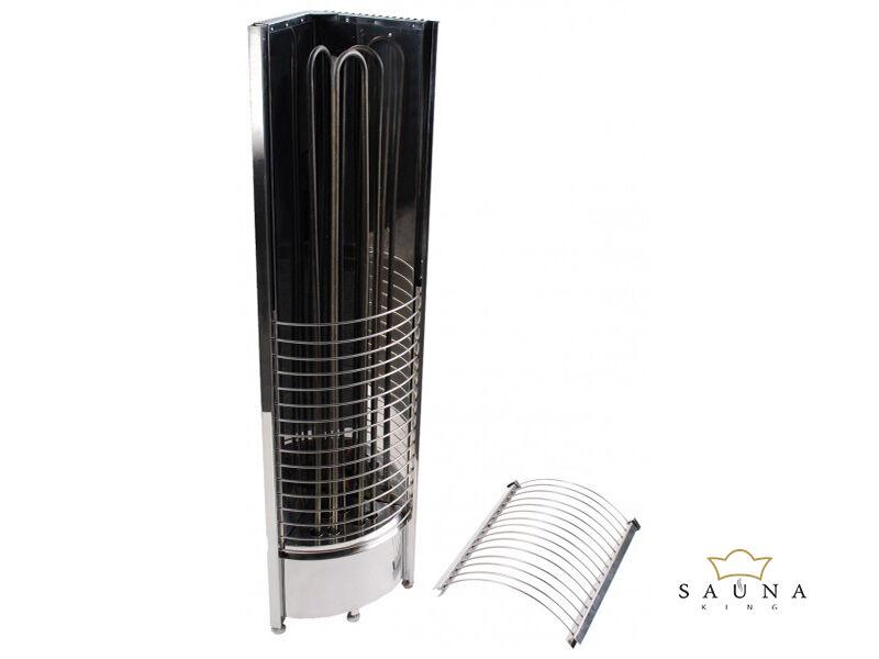 Sentiotec Finnische Saunaofen Tower Heater Corner 6kw-12kw