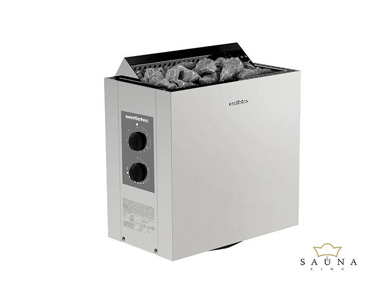 Sentiotec Finnische Saunaofen VIKING mit integrierter Steuerung, 4,5kw-9k