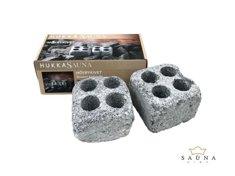 Párologtató szauna kövek zsírkőből (2 db-os szett)