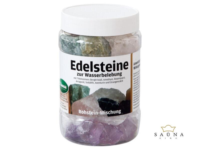 Edelsteine zur Wasserbelebung, Rohstein-mischung, ca. 1kg