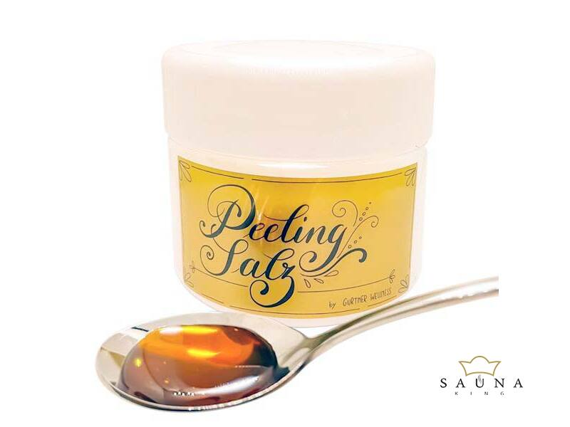 Saunapeeling, totes Meer Salz, 12 Optionaler Duftnoten, 250g