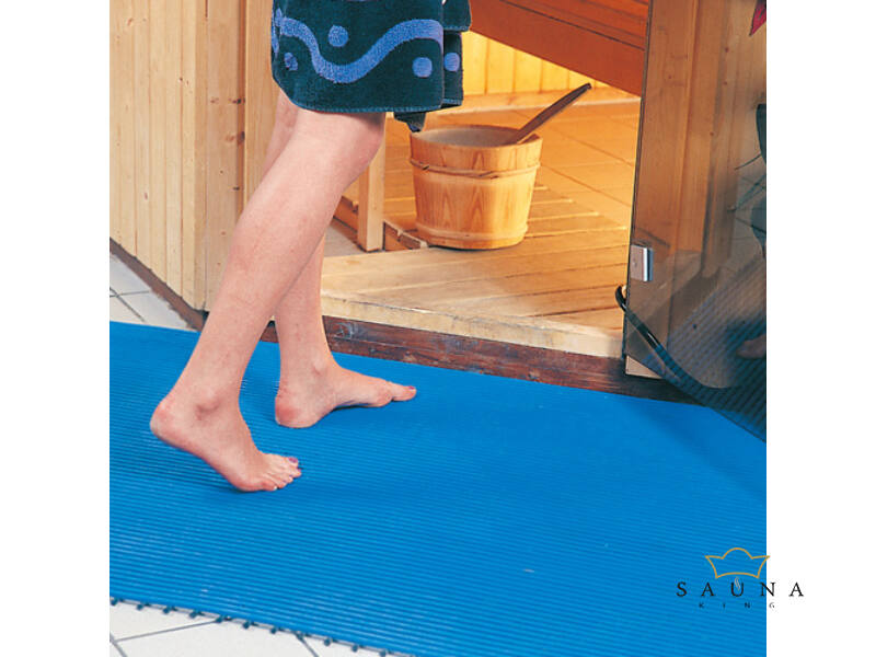 UV-álló lábrács kül- és beltérre, folyóméterre, 75cm széles, kék