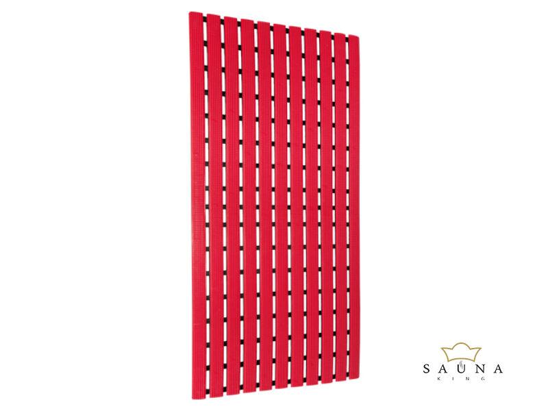 Higiénia PVC lábrács 40x80 cm, piros