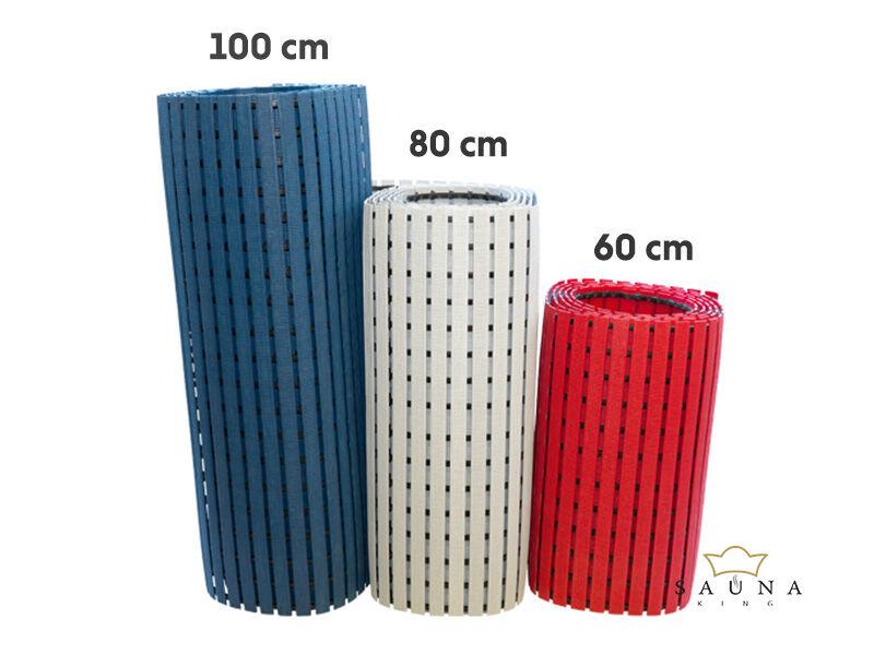 Higiénia PVC lábrács 80 cm széles, 5m hosszú, piros
