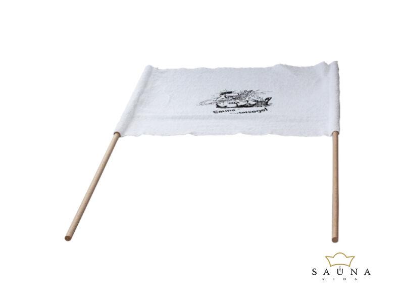 Szauna légterelő zászló, 50x60cm