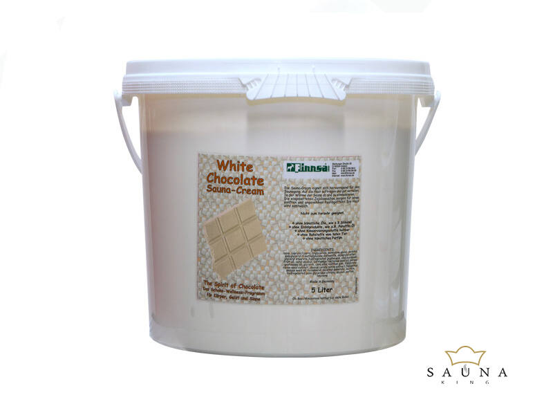 Sauna-Creme White Chocolate 5L