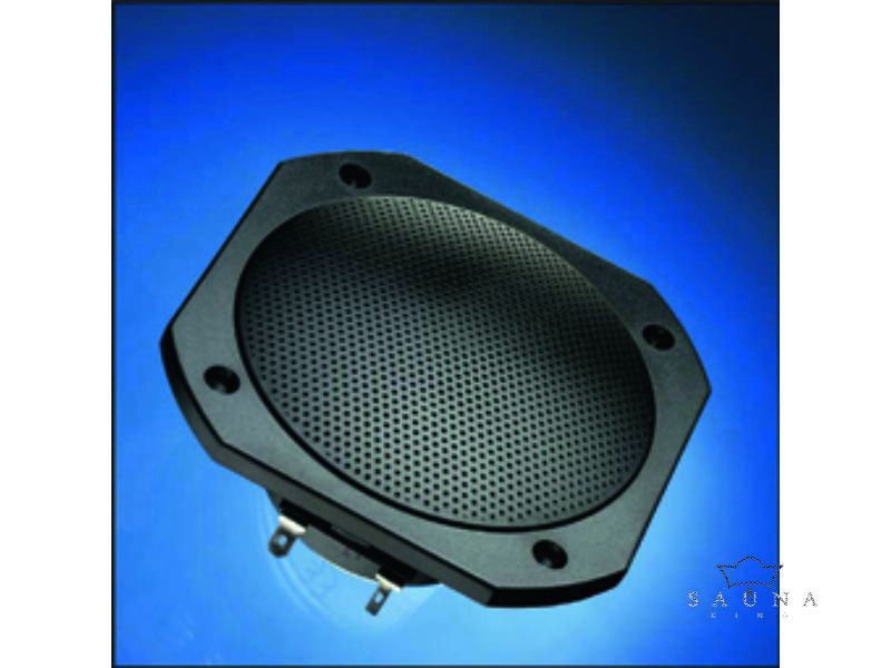 Sauna Lautsprecher FRS 10 WP, schwarz