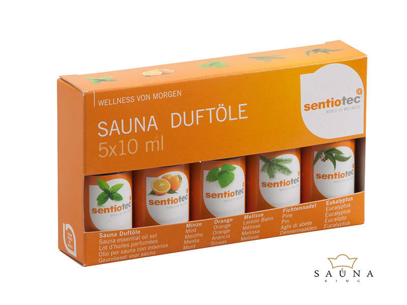 Saunaduftölset Sentio, 5 teilig