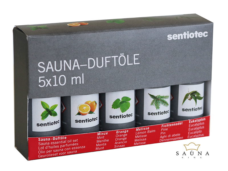 """""""Sentio"""" Saunaduftölset, 5 teilig"""
